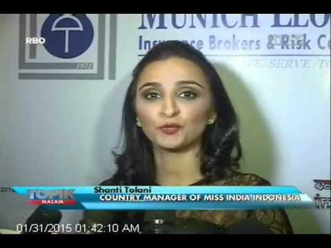 [ANTV] TOPIK, Miss India Indonesia Cantik, Pintar & Paham Budaya