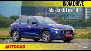 Maserati Levante | India Drive | Autocar India