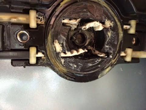 Lexus RX330 RX 330 moonroof sunroof stuck broken won't close stays open broken belt