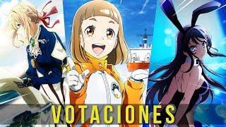 VOTACIONES | LOS MEJORES ANIMES DE 2018