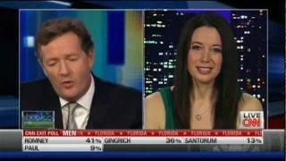 Carol Roth w Piers Morgan on Why Barack Obama is The Prom King CNN
