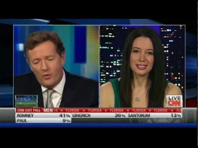 Carol Roth w Piers Morgan on Why Barack Obama is The Prom King CNN