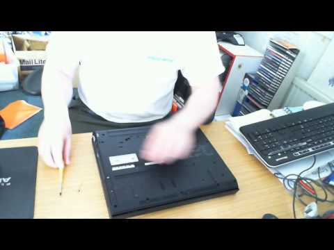 Removing and Replacing Hard Drive in IBM Thinkpad R51