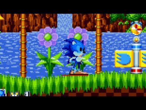 Sonic Mania Sprite Mod - CD Sonic (WIP)