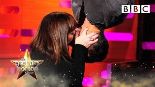 Dawn French and Bear Grylls re-enact the Spiderman kiss - The Graham Norton Show: Series 15 - BBC