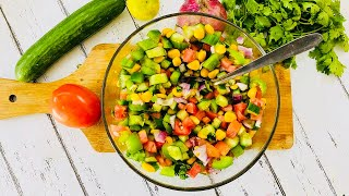 American Corn Salad Recipe | Best Tasty and Healthy Salad