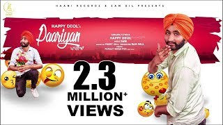 Paariyan (Full Song) ● Original ● Happy Deol ● Official Audio ● NEW PUNJABI SONG ● HAAਣੀ Records