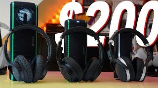 My Top 3 $200 ANC Headphones As Of Q1 2019 - Sony WH-CH700N Vs Sennheiser 4.50BTNC Vs ATH-SR50BT