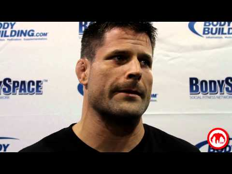 Brian Stann talks to us about Bisping, Anderson and the marines starting MMA tournaments