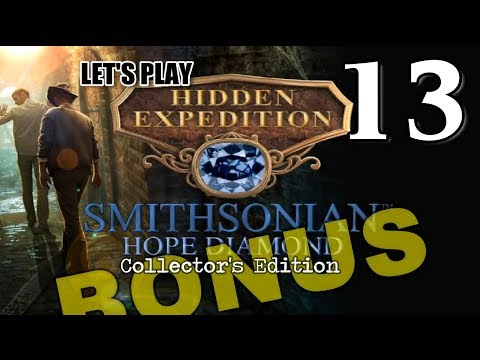 Hidden Expedition 6: Smithsonian Hope Diamond CE [13] w/YourGibs - BONUS CHAPTER 2/3
