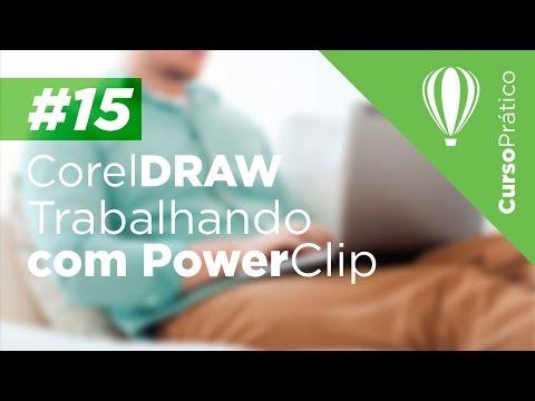 Curso prático de Design Gráfico #15 - CorelDRAW - Trabalhando com PowerClip