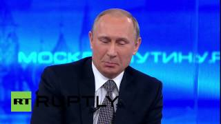 download lagu Russia: Watch The Funny Moments Of Putin's Annual Direct gratis