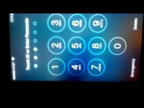 BYPASS PASSCODE TO UNLOCK IPHONE 6 AND HIGHER