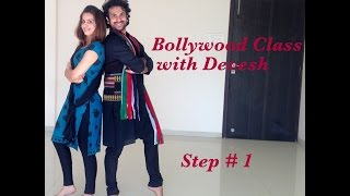 Learn How to Dance Bollywood with Devesh (Step 1)
