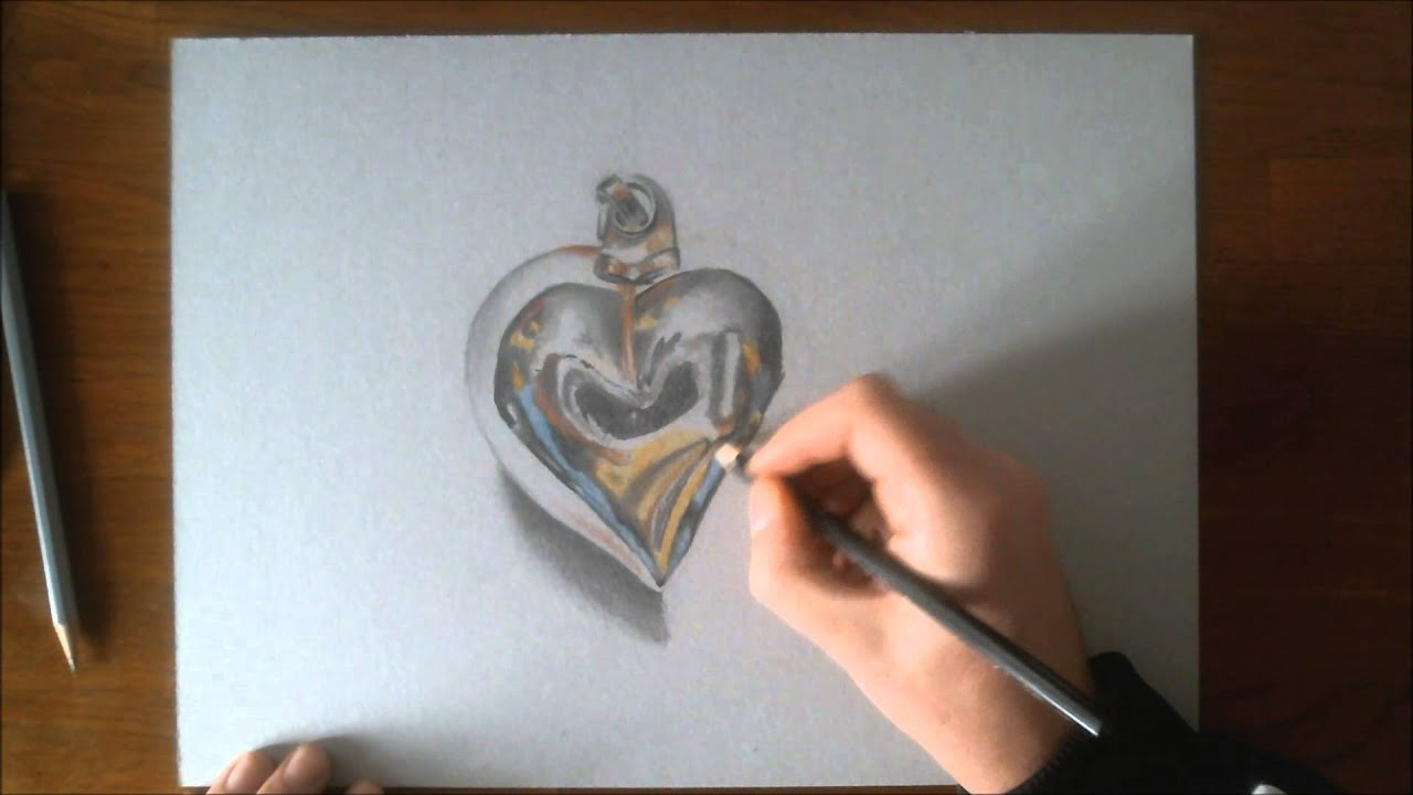 3d heart drawing maxresdefault