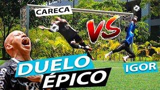 IGOR VS GOLEIRO PROFISSIONAL - MELHOR GOLEIRO DO BRASIL EM 2018 NO FUTSAL {BZK}
