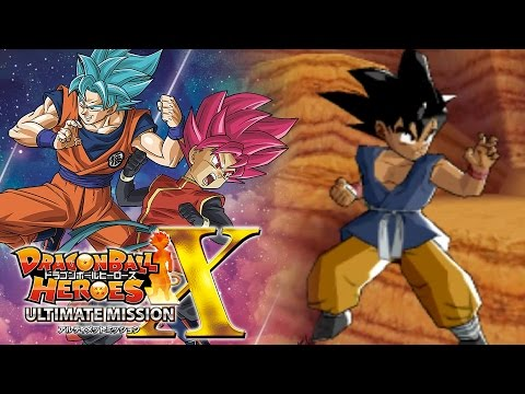 TIME TO START THE NEW ULTIMATE MISSION X!!!   Dragon Ball Heroes Ultimate Mission X Gameplay!