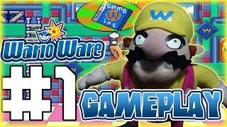 ABM: Wario Ware Inc Gameplay Part 1!!
