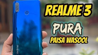 Realme 3 Unboxing & First Impressions | Pros & Cons