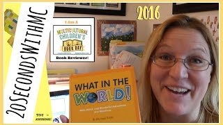 #ReadYourWorld | MCCBD 2016 | Book Review | What in the World! | Michael Smith