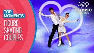 Olympic Figure Skating pairs who found Love on Ice | Top Moments