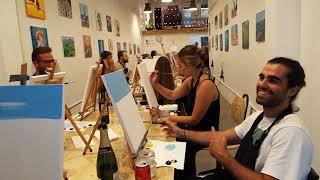 Arte Bar - Painting and Wine Studio