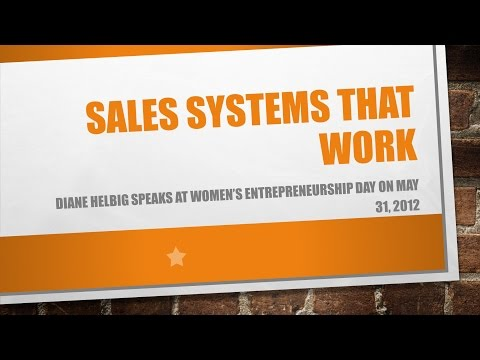 Sales Systems That Work