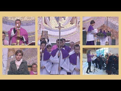2019-12-15 vasárnapi szentmise a Gazdagréti Szent Angyalok Plébánián (Advent 3. vasárnapja)