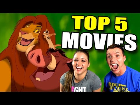5 Best DISNEY Animated Movies - Ask Anything!