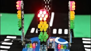How to Make 4 Way Traffic LED Light Signals