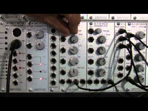 More Ring Modulation with Doepfer A114 Ring Mod