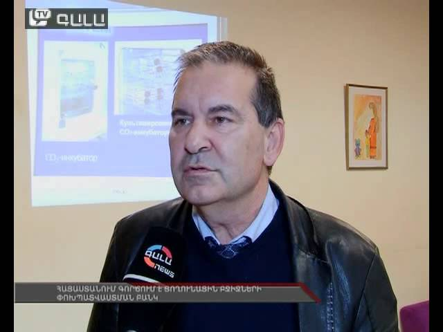 Հայաստանում գործում է ցողունային բջիջների փոխպատվաստման բանկ