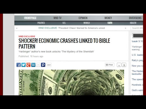 SHOCKER! Economic Crashes Directly Linked To Bible Pattern-and It's Pretty Scary!