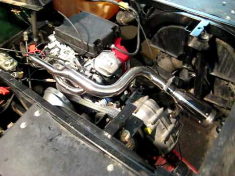 golf cart 24HP V TWIN CONVERSION FIRE UP YouTube