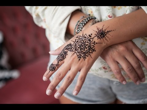 How to make henna - 3 ways to mehndi henna