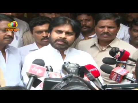 Pawan Kalyan latest press meet - Chandrababu Naidu meets Pawan Kalyan