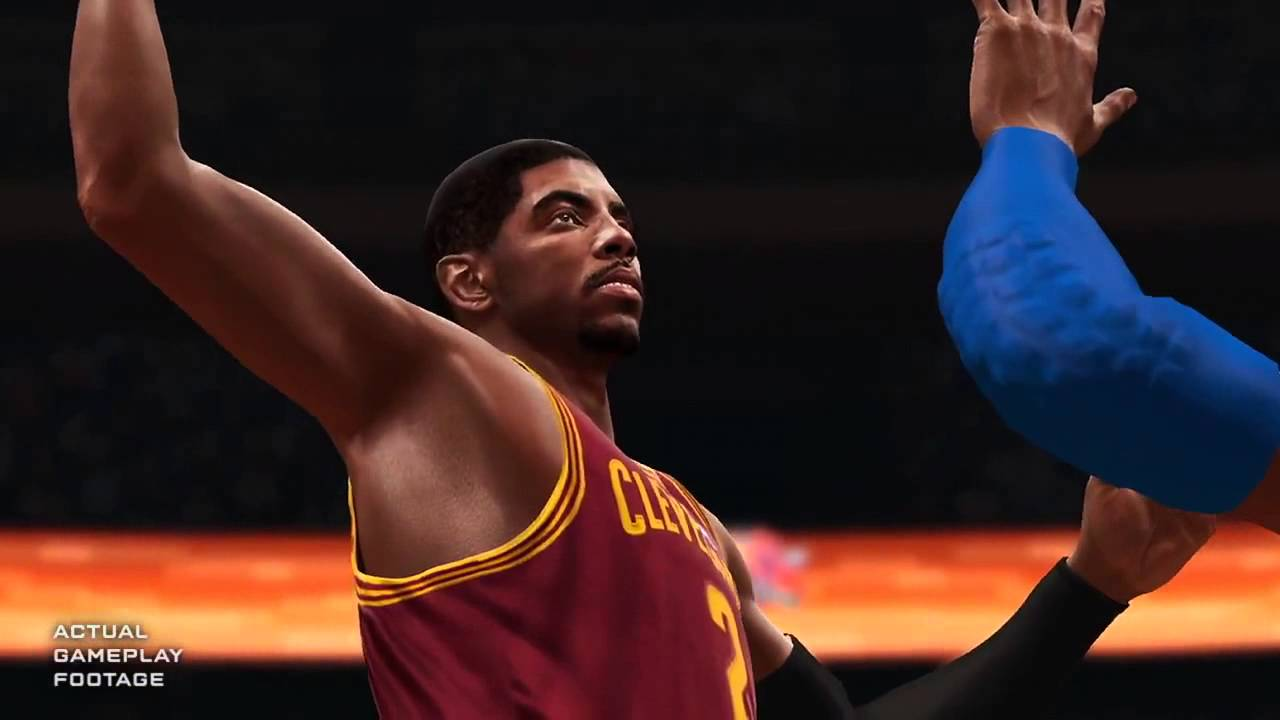 nba 2k14 vs nba live 14 graphics ps4 xboxone gameplay