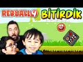 KIRMIZI TOP! BİTİRDİK! | RED BALL 4 FİNAL