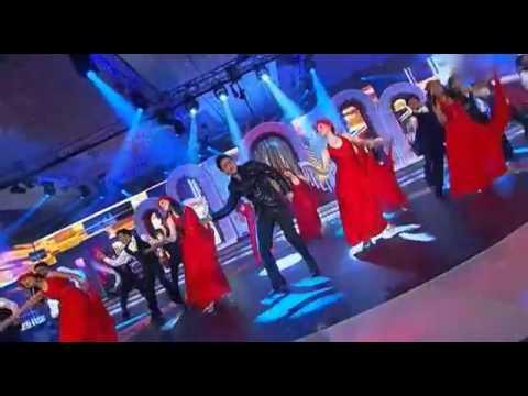 noor e khuda shahrukh khan performance at zeecine awards 2011...