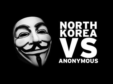 Anonymous Vs. North Korea video