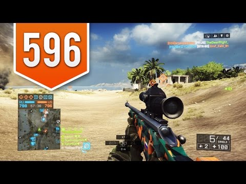 BATTLEFIELD 4 (PS4) - Road to Max Rank - Live Multiplayer Gameplay #596 - NO SCOPE MACHINE?