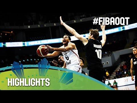 Canada v New Zealand - Highlights - 2016 FIBA Olympic Qualifying Tournament - Philippines