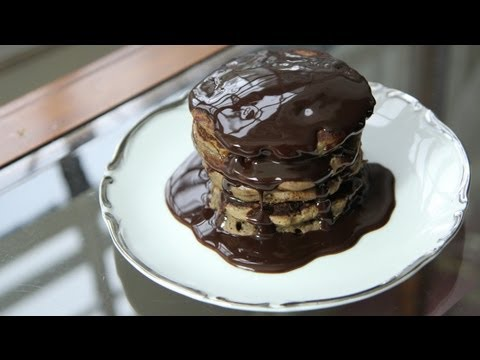 Mississippi Mud Pancakes Recipe (8.17.12 – Day 5) Vegan Chocolate Pancakes