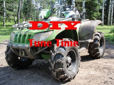 DIY ATV Tune up and Oil Change