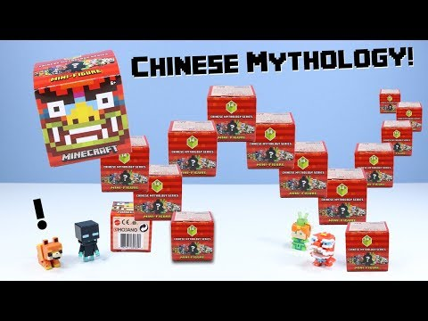 Minecraft Mini-Figure Chinese Mythology Series 14 Review Monkey King!