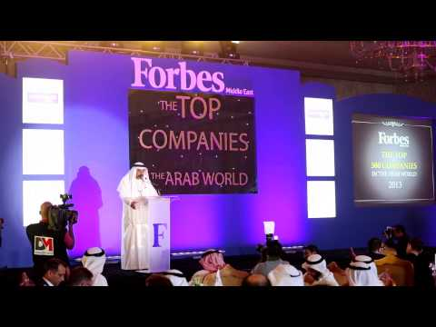 Forbes Top Companies in the Middle East Awards - May 2013