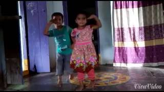 Village children dance