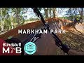Mountain biking Markham Park with JC Trails