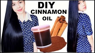 DIY Cinnamon Oil for Hair Growth- Hair Loss-Dandruff & Healthy Scalp- Beautyklove