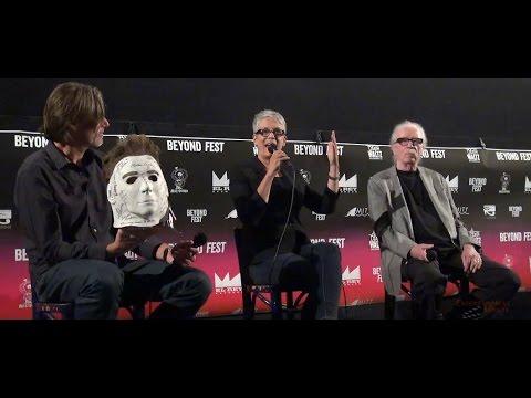 Halloween Beyond Fest complete panel with Jamie Lee Curtis & John Carpenter in HD!